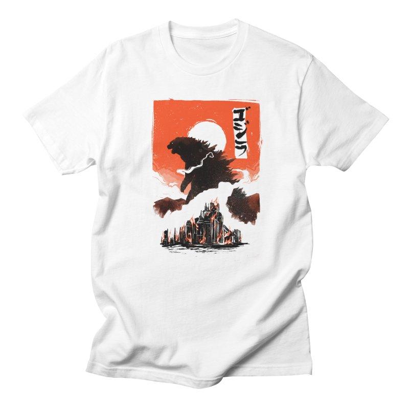 Godzilla Men's T-Shirt by MB's Tees