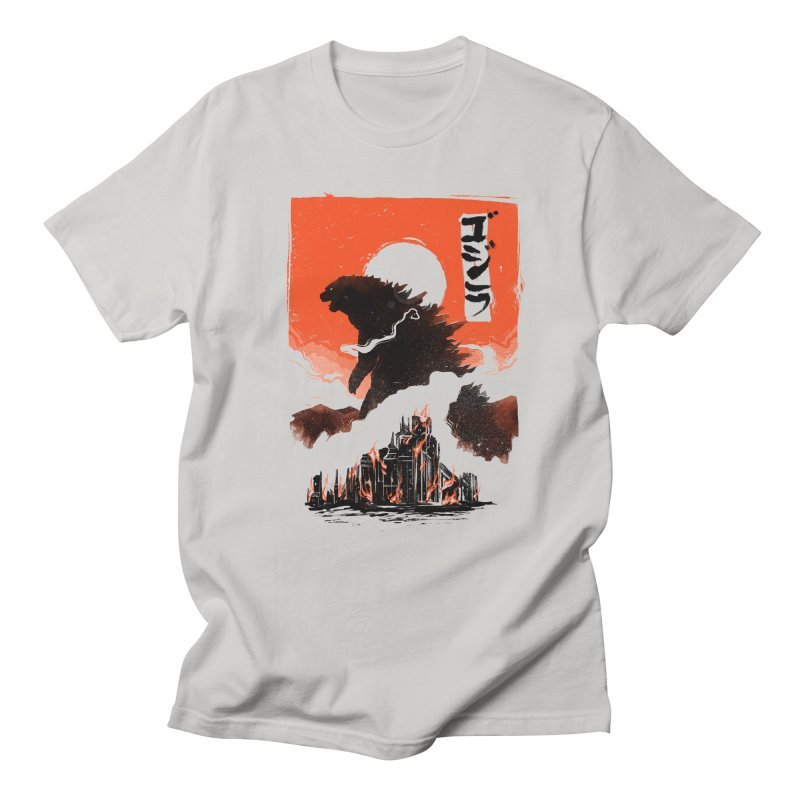 Godzilla Men's Regular T-Shirt by MB's Tees