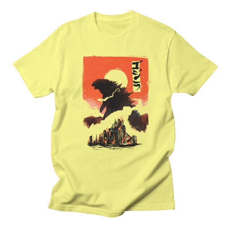 Godzilla Women's Regular Unisex T-Shirt by MB's Tees