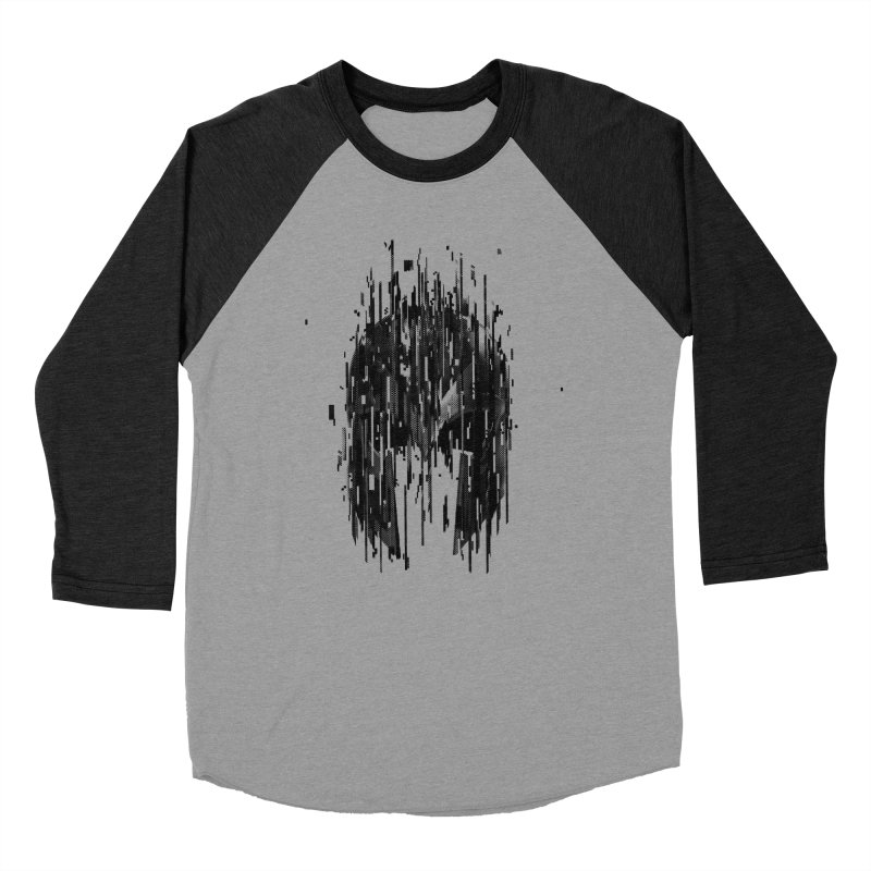 Magneto Men's Baseball Triblend Longsleeve T-Shirt by MB's Tees