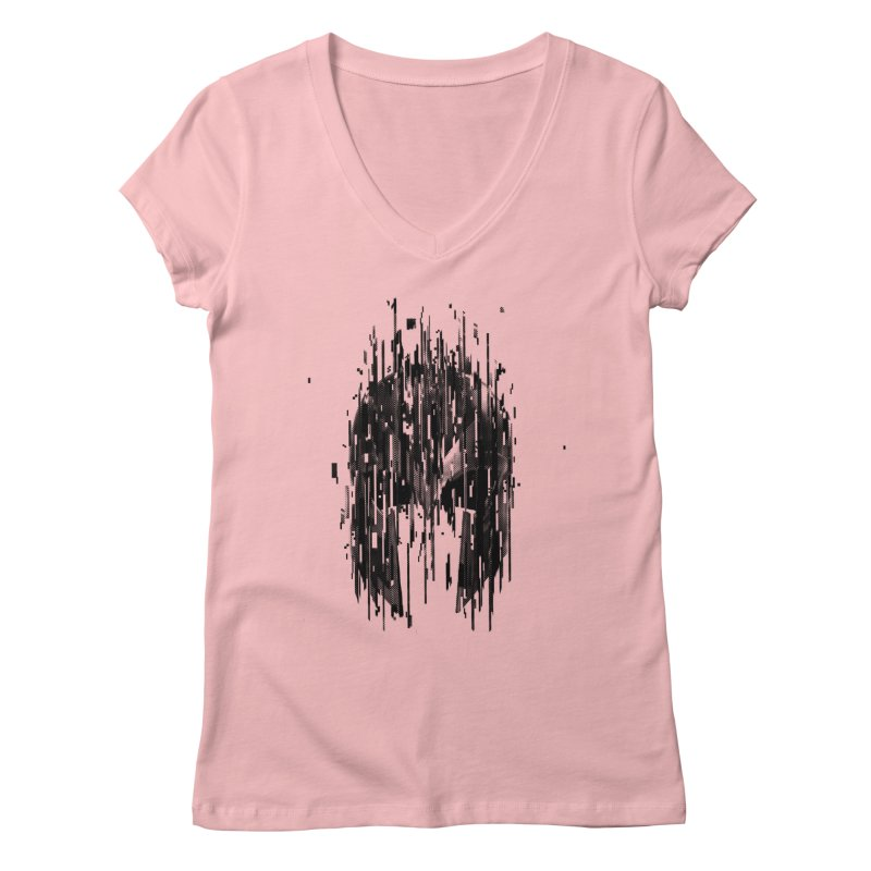 Magneto Women's V-Neck by MB's Tees