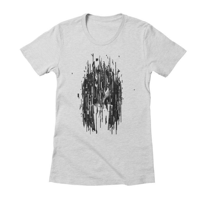 Magneto Women's Fitted T-Shirt by MB's Tees