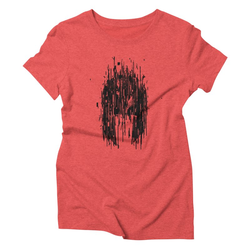 Magneto Women's Triblend T-Shirt by MB's Tees