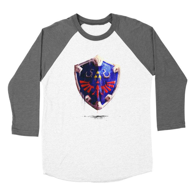 Shield Women's Longsleeve T-Shirt by MB's Tees