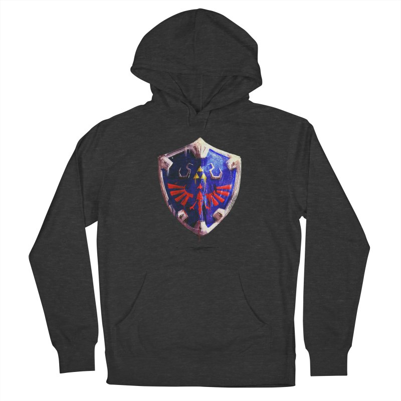 Shield Women's French Terry Pullover Hoody by MB's Tees