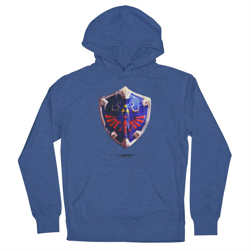 Shield Men's French Terry Pullover Hoody by MB's Collection