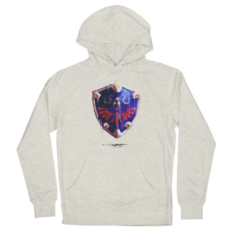 Shield Men's French Terry Pullover Hoody by MB's Tees