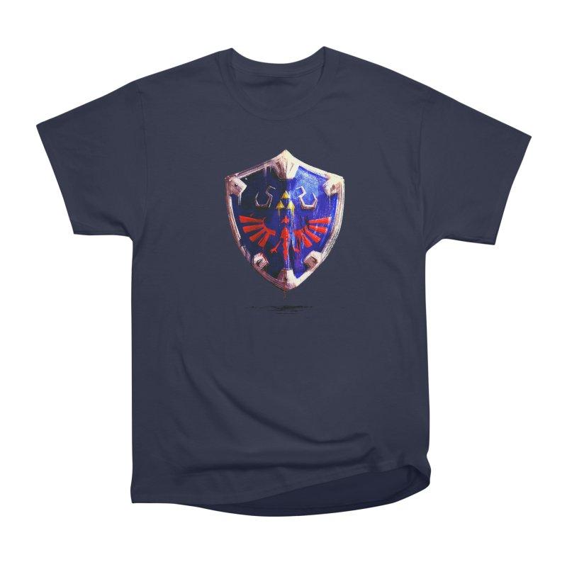 Shield Men's Heavyweight T-Shirt by MB's Tees