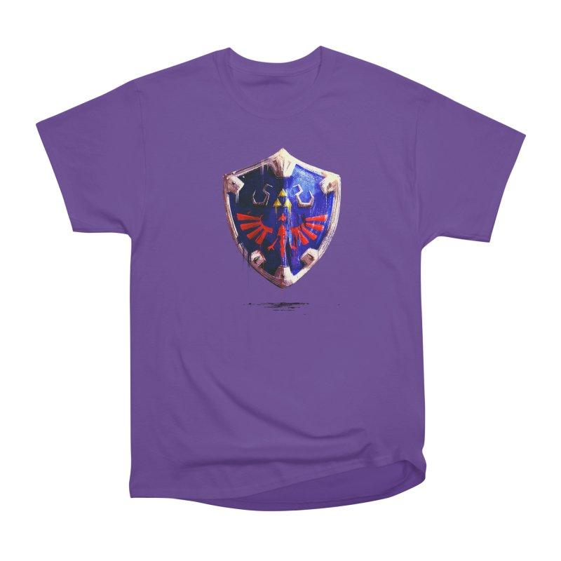 Shield Women's Heavyweight Unisex T-Shirt by MB's Tees