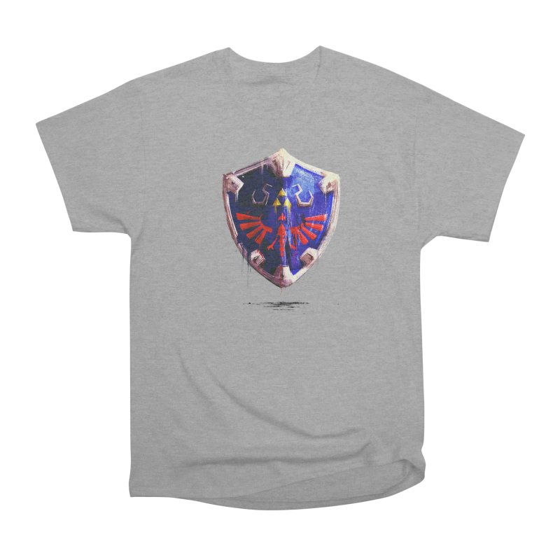 Shield Women's Heavyweight Unisex T-Shirt by MB's Collection