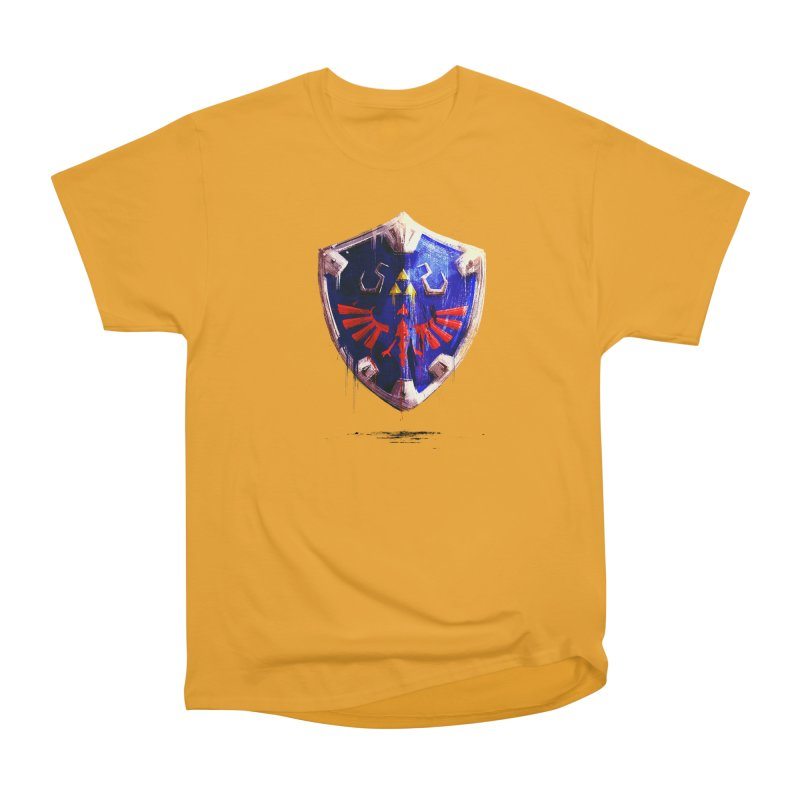 Shield Men's Heavyweight T-Shirt by MB's Collection