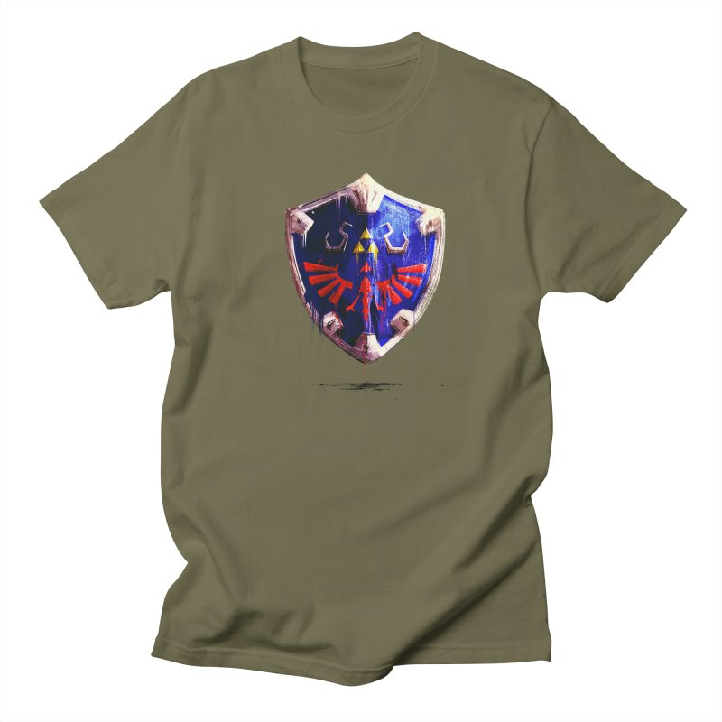 Shield Women's Regular Unisex T-Shirt by MB's Collection