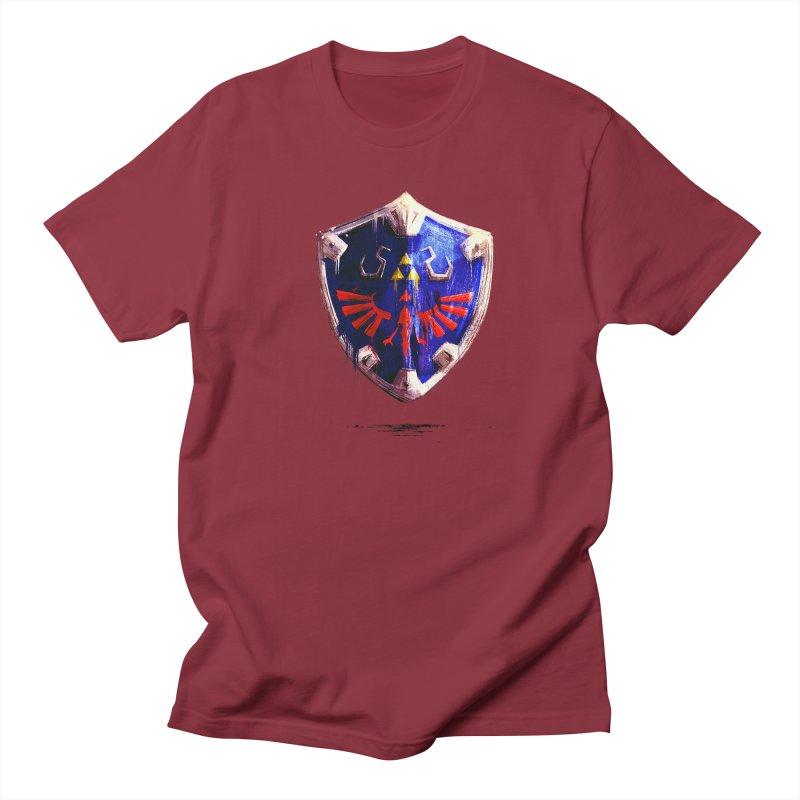 Shield Men's Regular T-Shirt by MB's Tees