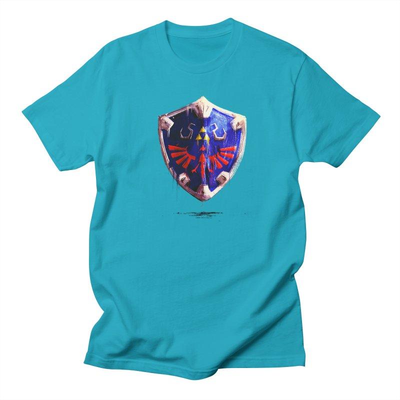 Shield Men's T-Shirt by MB's Tees