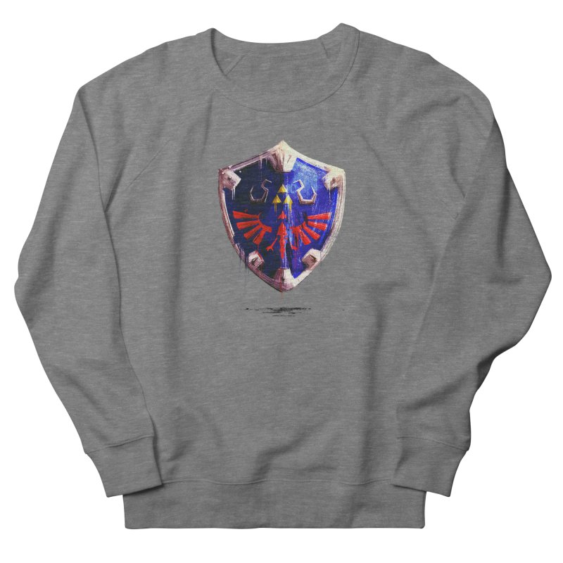 Shield Women's French Terry Sweatshirt by MB's Collection