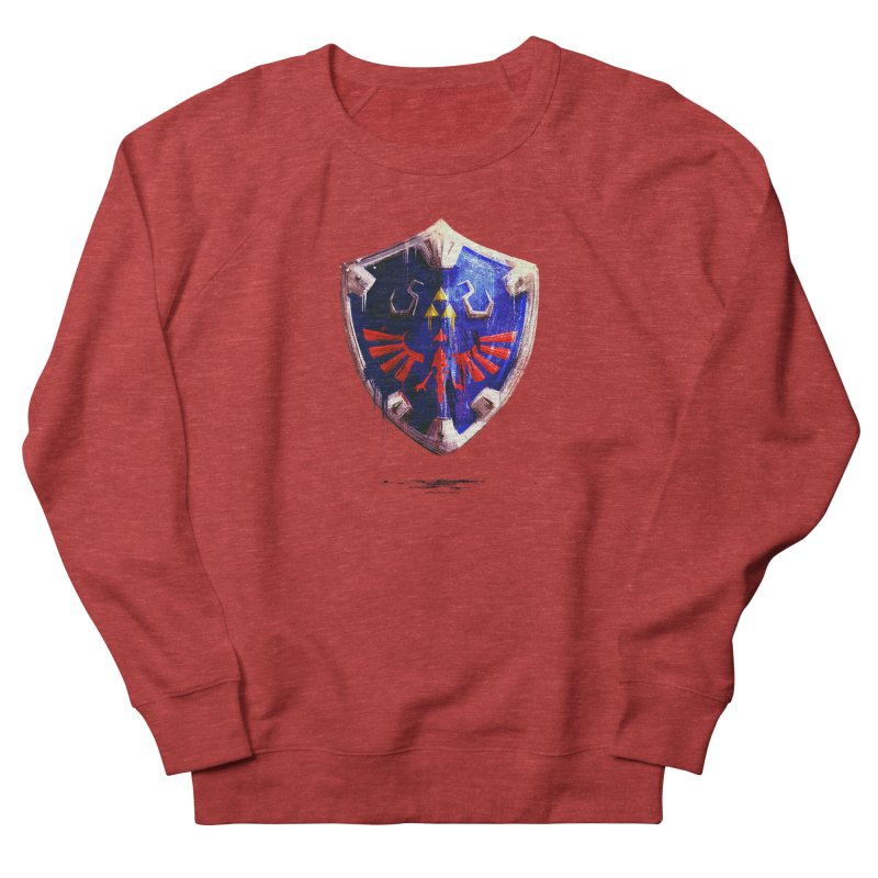 Shield Women's French Terry Sweatshirt by MB's Tees