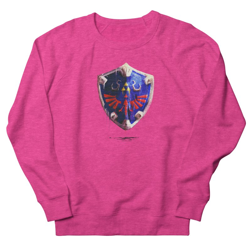 Shield Men's French Terry Sweatshirt by MB's Collection