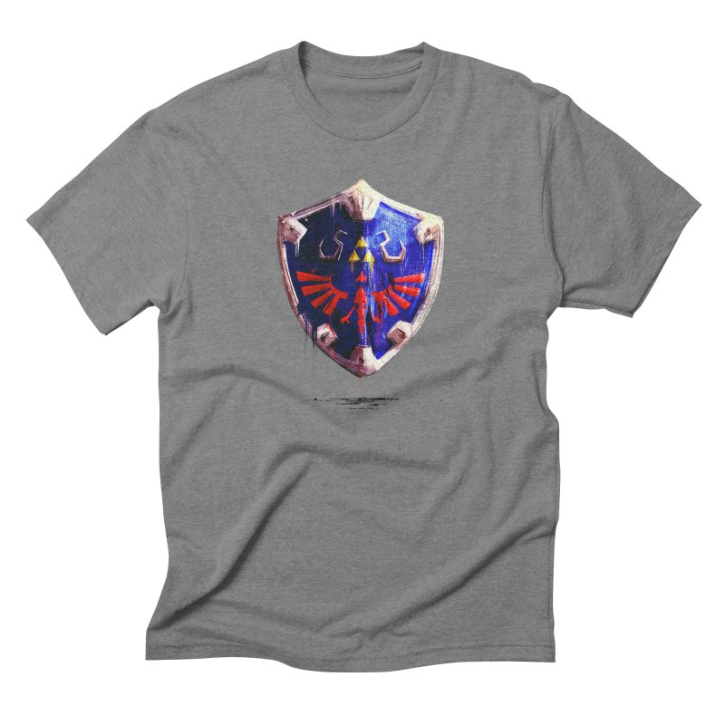 Shield Men's Triblend T-Shirt by MB's Collection