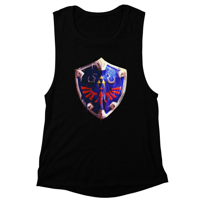 Shield Women's Muscle Tank by MB's Collection