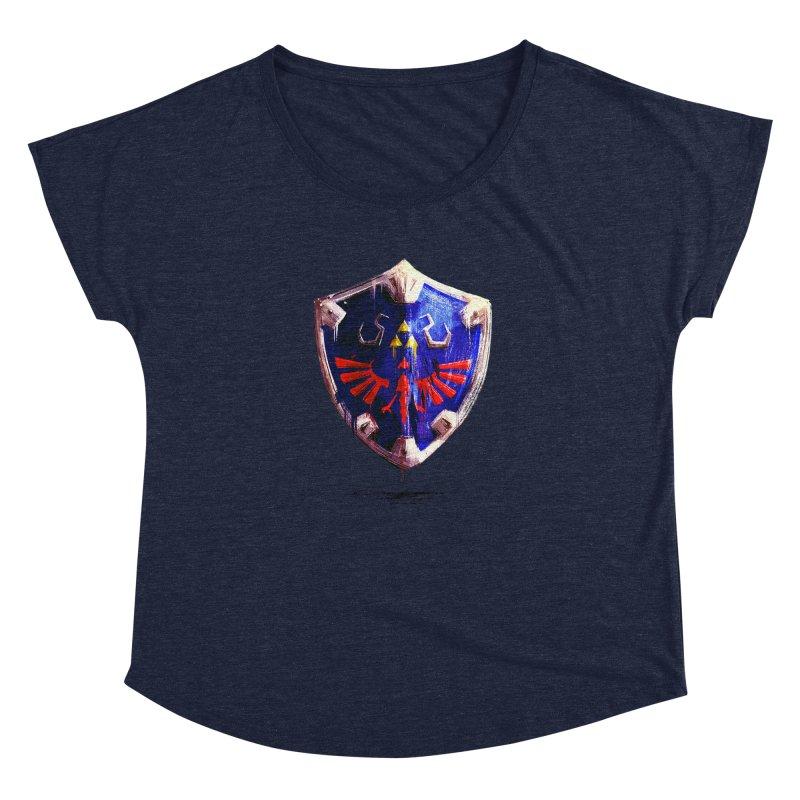 Shield Women's Dolman Scoop Neck by MB's Tees