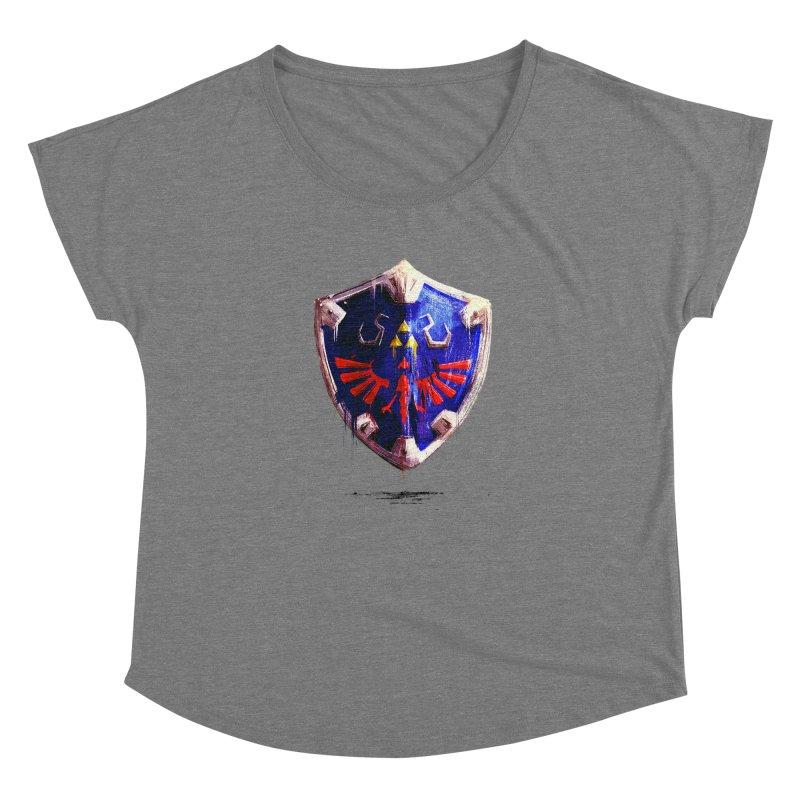 Shield Women's Dolman by MB's Tees