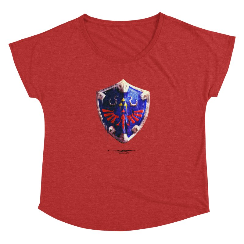 Shield Women's Dolman Scoop Neck by MB's Collection