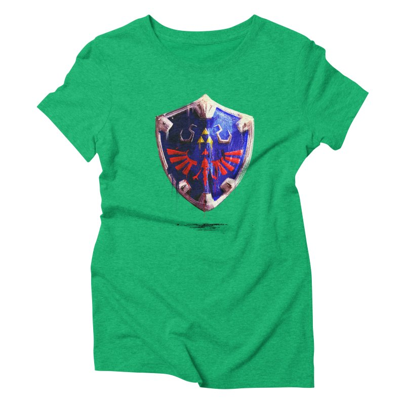 Shield Women's Triblend T-Shirt by MB's Collection