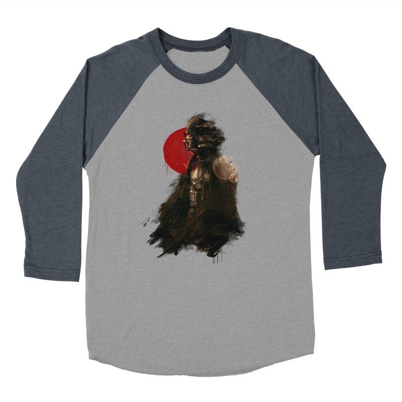 Vader Women's Baseball Triblend Longsleeve T-Shirt by MB's Tees