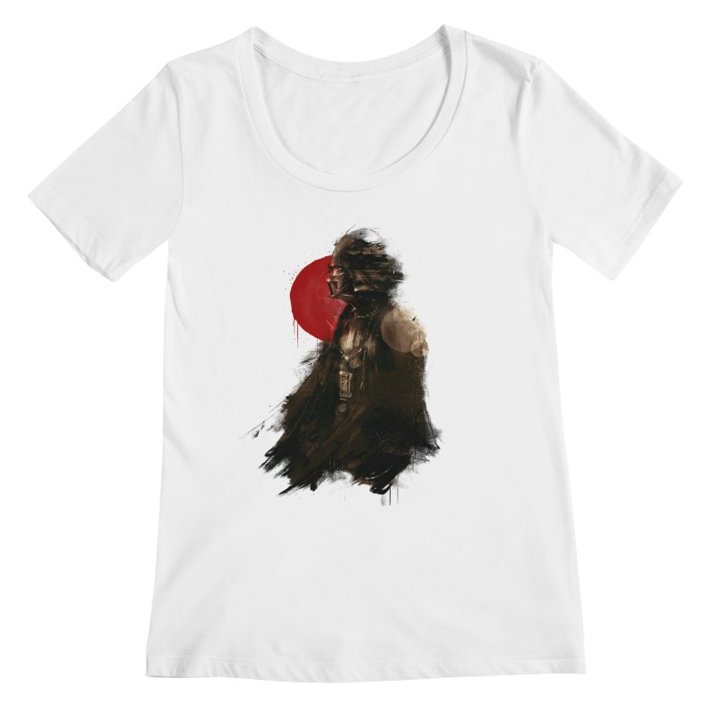 Vader Women's Regular Scoop Neck by MB's Tees