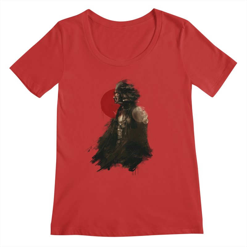 Vader Women's Regular Scoop Neck by MB's Collection