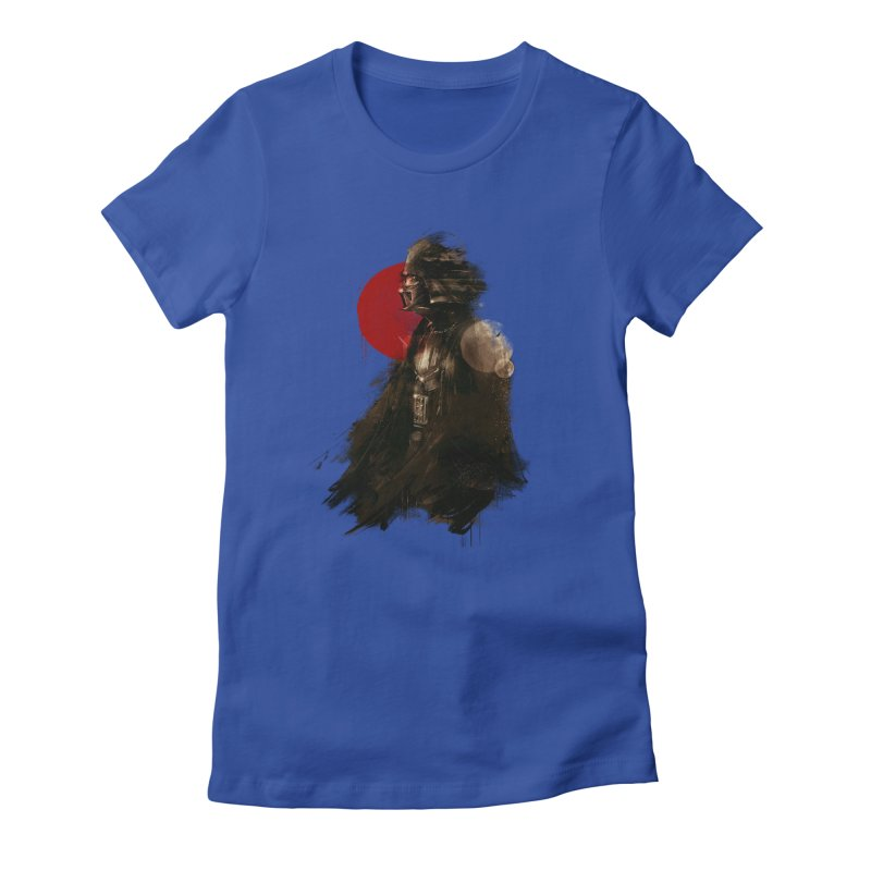 Vader Women's Fitted T-Shirt by MB's Collection