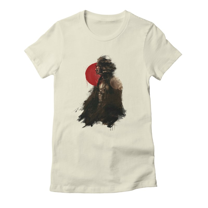 Vader Women's Fitted T-Shirt by MB's Tees