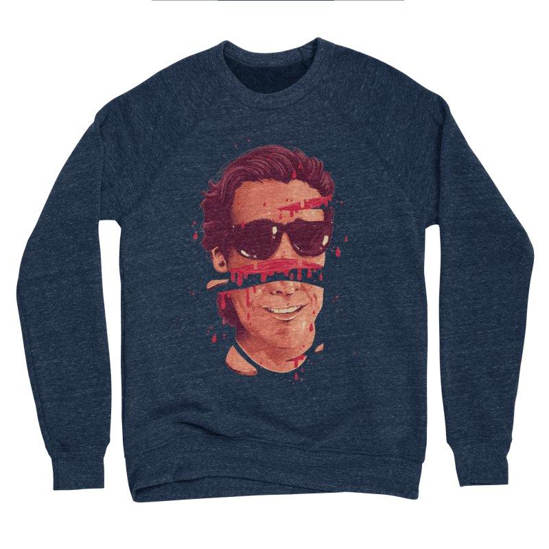 American Psycho Men's Sponge Fleece Sweatshirt by MB's Collection