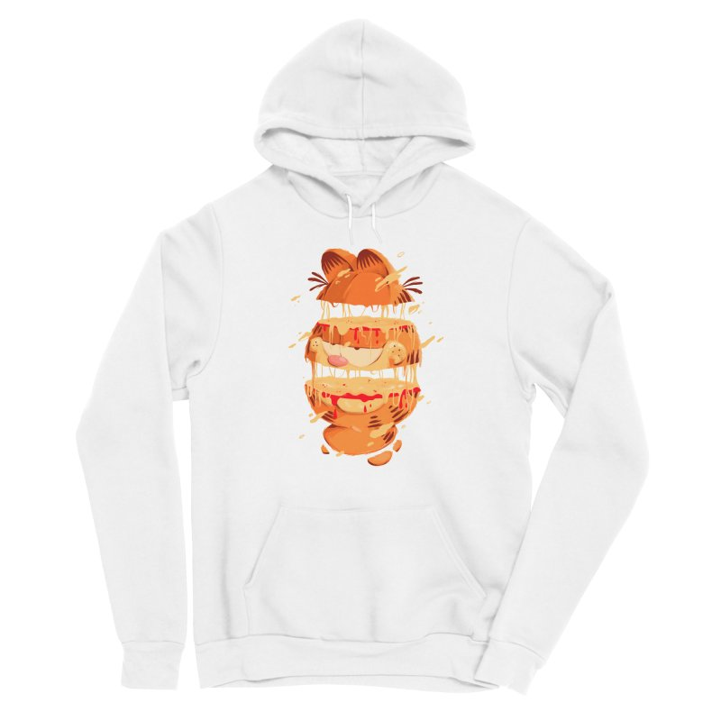 Garfield Women's Sponge Fleece Pullover Hoody by MB's Collection