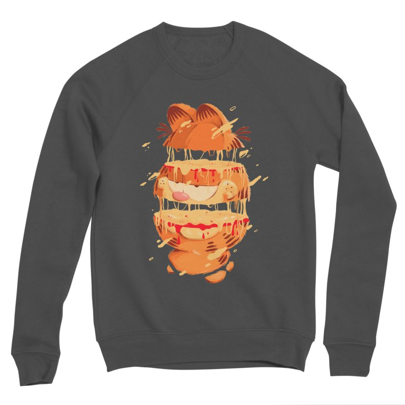 Garfield Women's Sponge Fleece Sweatshirt by MB's Collection