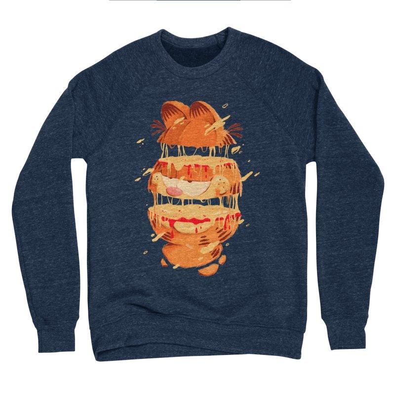 Garfield Men's Sponge Fleece Sweatshirt by MB's Collection