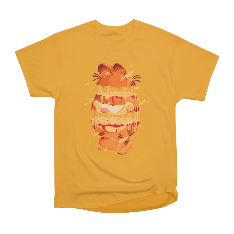 Garfield Men's Heavyweight T-Shirt by MB's Collection