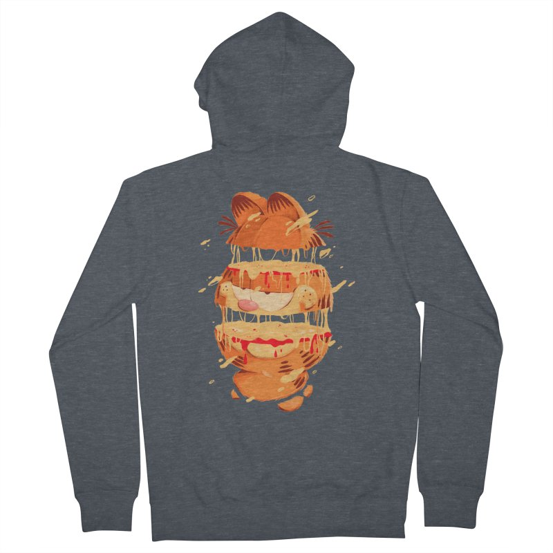Garfield Men's French Terry Zip-Up Hoody by MB's Collection