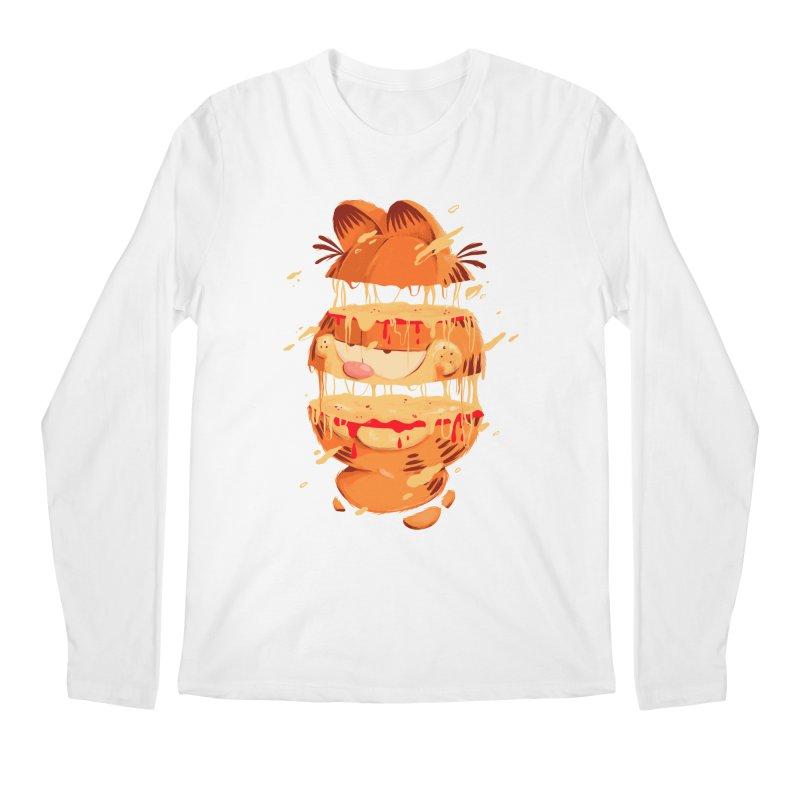 Garfield Men's Regular Longsleeve T-Shirt by MB's Collection