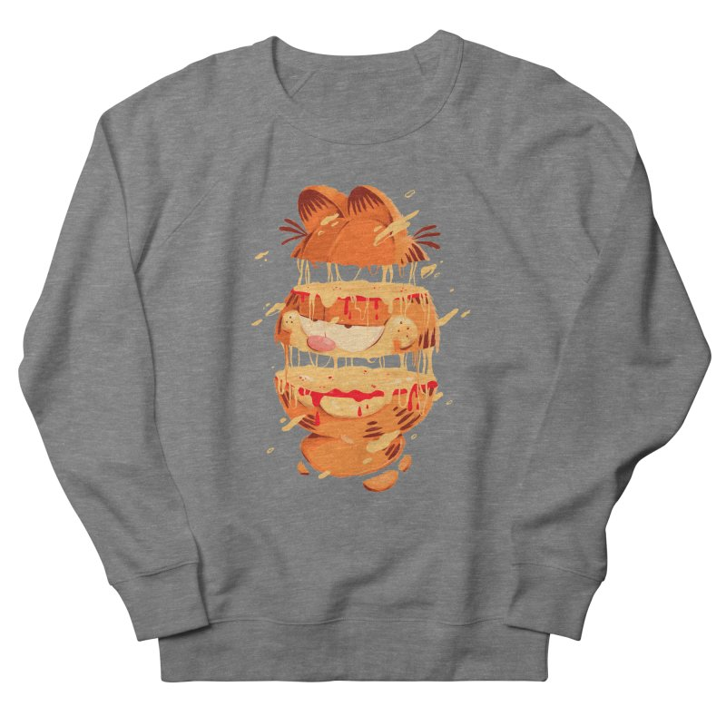Garfield Women's French Terry Sweatshirt by MB's Collection