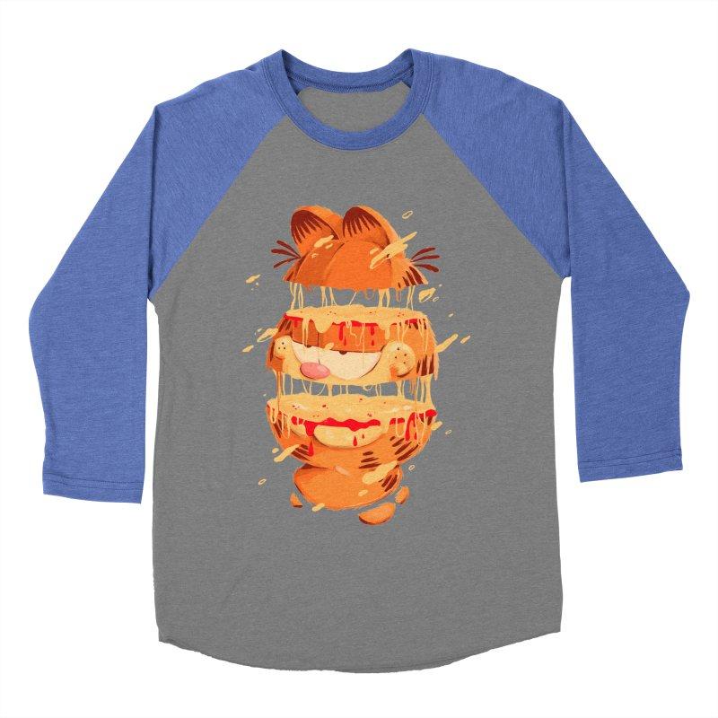 Garfield Women's Baseball Triblend Longsleeve T-Shirt by MB's Collection