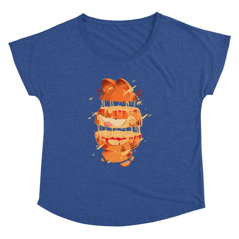Garfield Women's Dolman Scoop Neck by MB's Collection