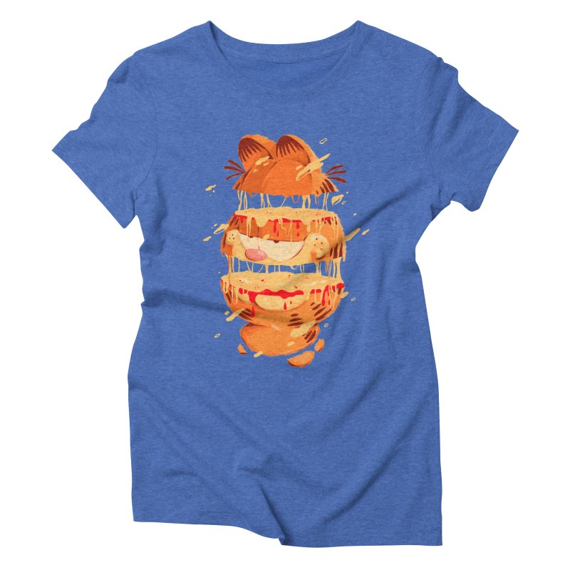 Garfield Women's Triblend T-Shirt by MB's Collection