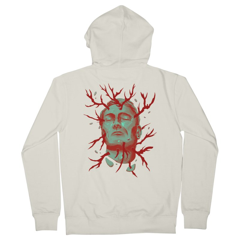 Hannibal Men's French Terry Zip-Up Hoody by MB's Collection