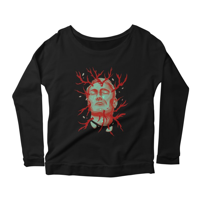 Hannibal Women's Scoop Neck Longsleeve T-Shirt by MB's Collection