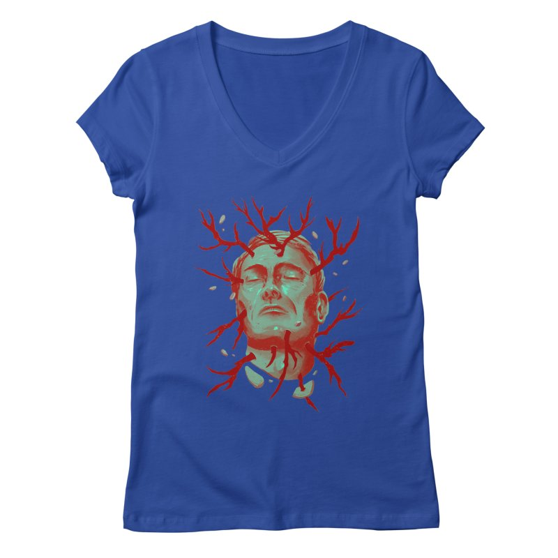 Hannibal Women's Regular V-Neck by MB's Collection