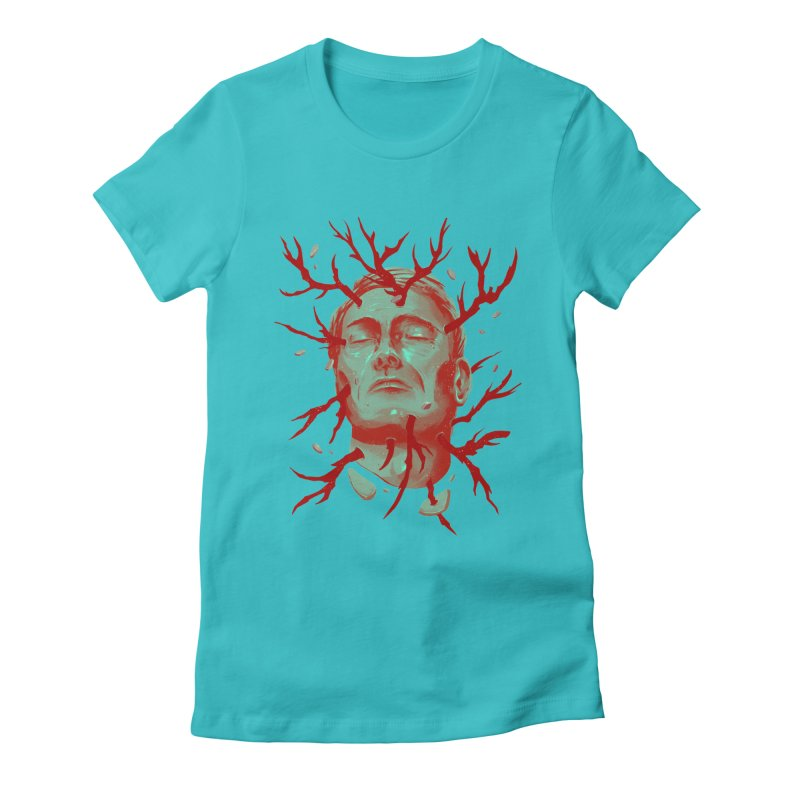Hannibal Women's Fitted T-Shirt by MB's Collection