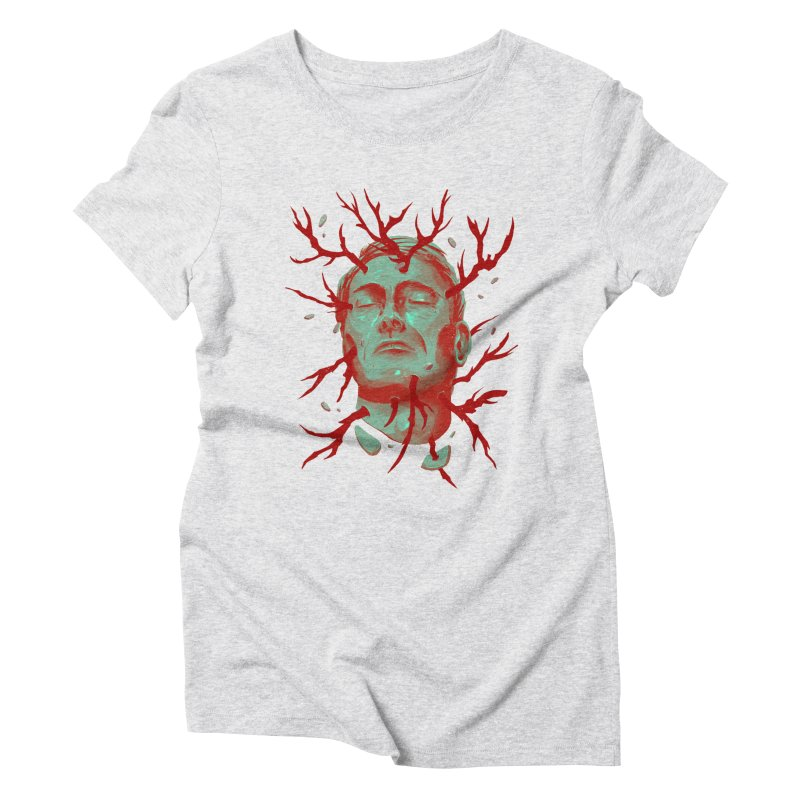 Hannibal Women's Triblend T-Shirt by MB's Collection