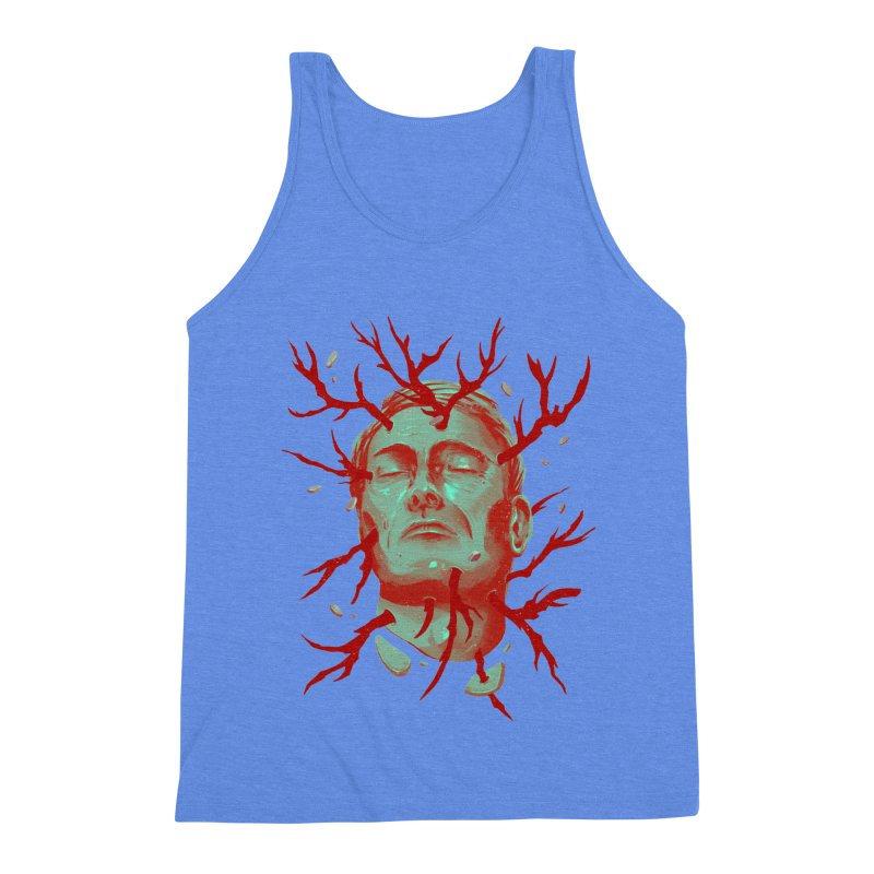 Hannibal Men's Triblend Tank by MB's Collection