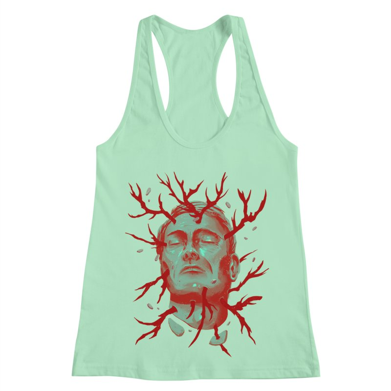 Hannibal Women's Racerback Tank by MB's Collection